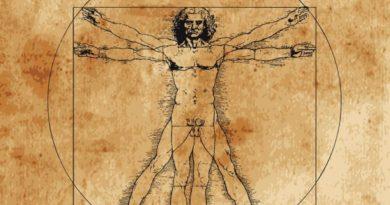 Leonardo's 'Vitruvian Man'